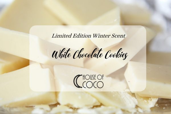 White Chocolate Cookies Candle