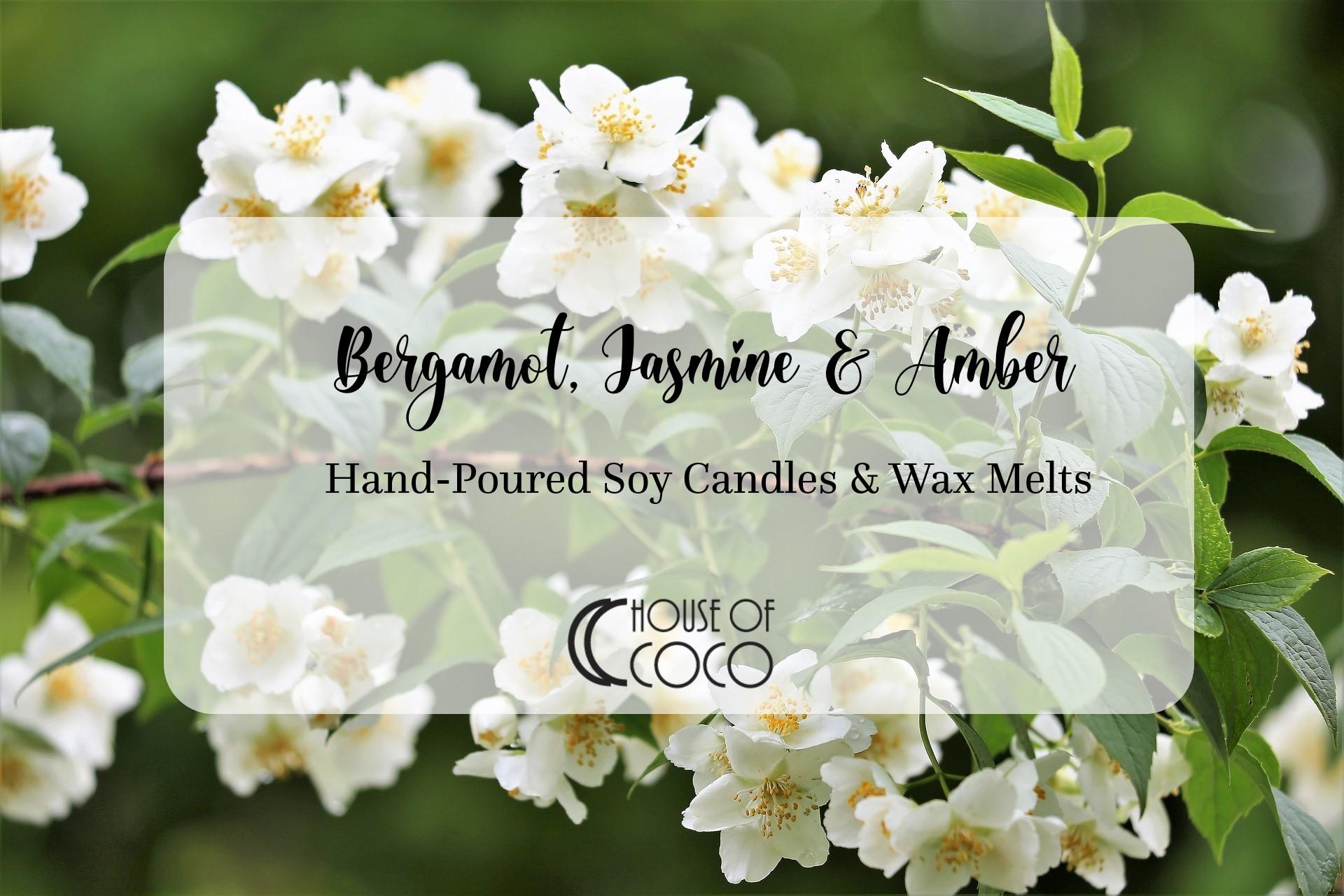 Bergamot, Jasmine & Amber Scent