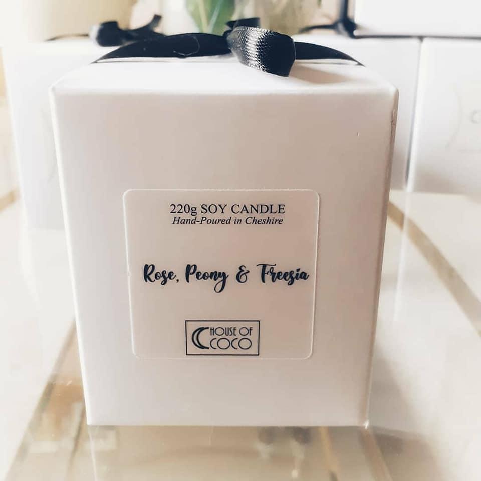 Rose, Peony & Freesia Box