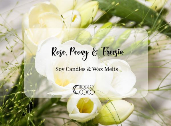 Rose-Peony-Freesia-Candles-Wax-Melts